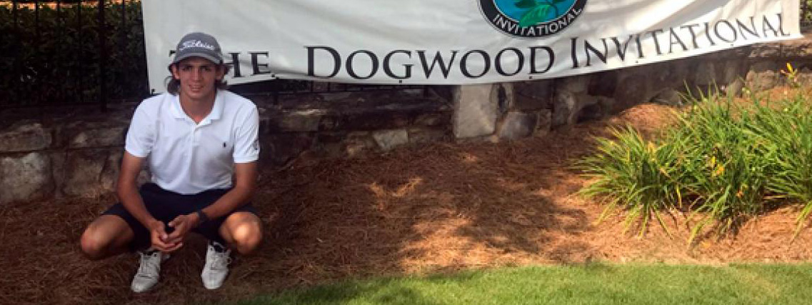 GOLF: Segundo Oliva Pinto se destacó en el The Dogwood Invitational